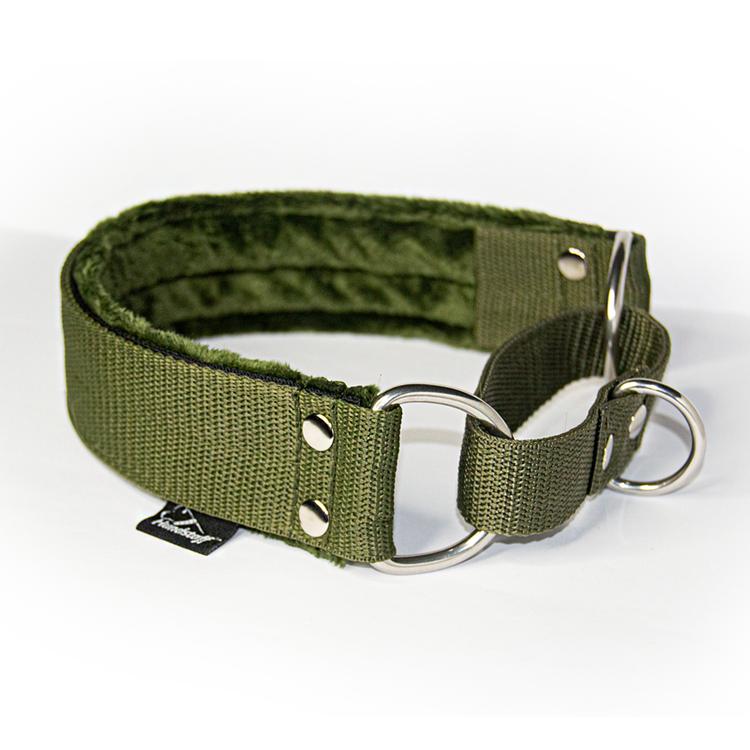 Khaki martingale - half choke without chain