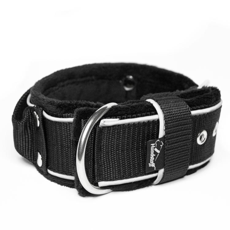 Grip Reflex Black - Svart halsband med reflex