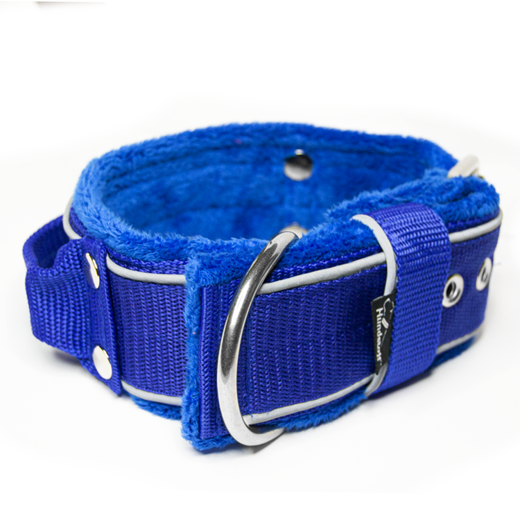 Grip Reflex Blue - Blått halsband med reflex