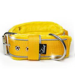 Grip Reflex Yellow - Gult halsband med reflex