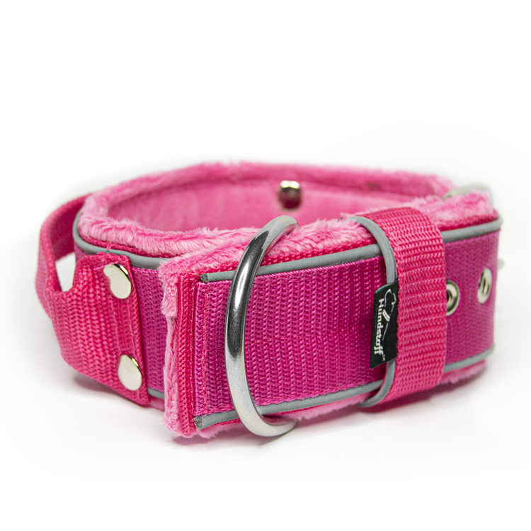 Grip Reflex Pink - Rosa halsband med reflex