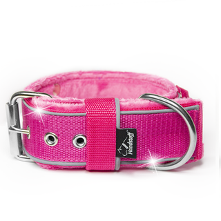 Grip Reflex Pink - Pink collar with reflex