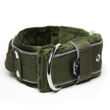 Grip Reflex Khaki- Khaki halsband med reflex
