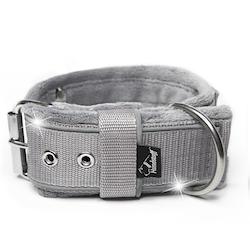 Grip Reflex Grey- Grått halsband med reflex