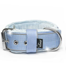 Grip Reflex Baby Blue - Ljus blått halsband med reflex