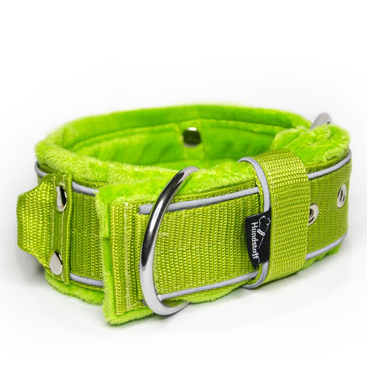 Grip Reflex Lime - Lime halsband med reflex