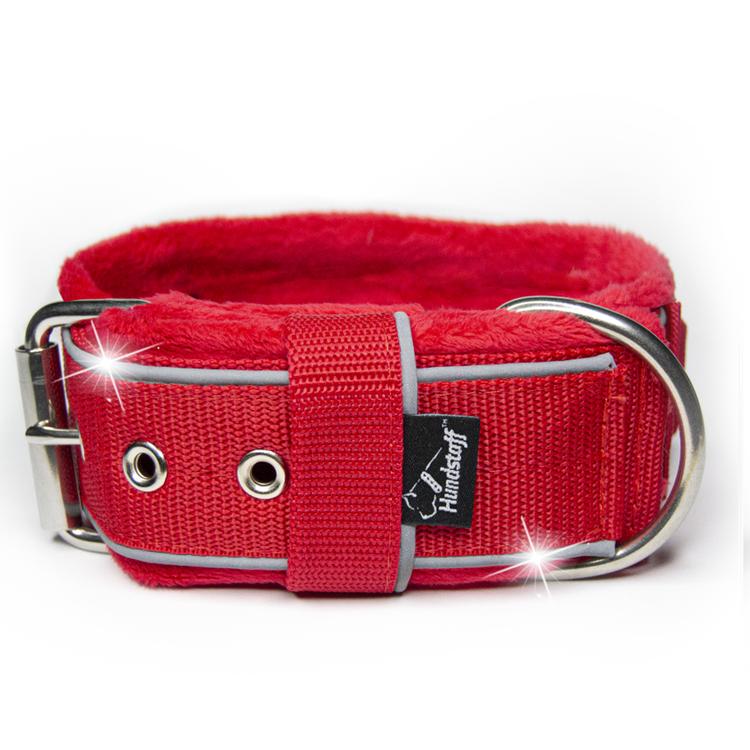 Grip Reflex Red - Rött halsband med reflex