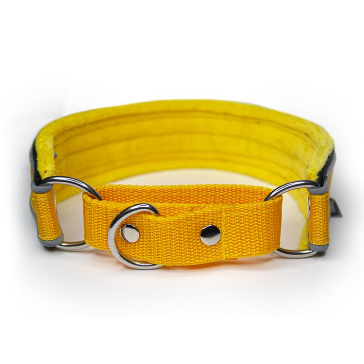 Martingale Reflex Yellow - gult halvstryp med reflex