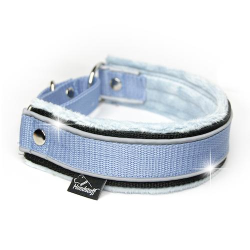 Martingale Reflex Baby Blue- light blue half-choke with reflex