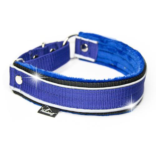 Martingale Reflex Blue - blue half-choke with reflex