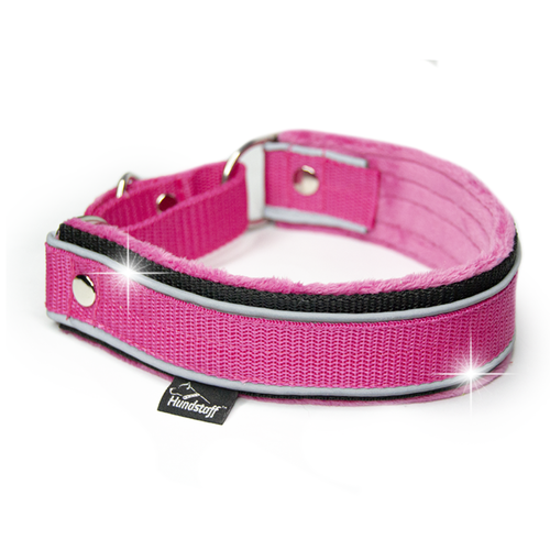 Martingale Reflex Pink - pink half-choke with reflex