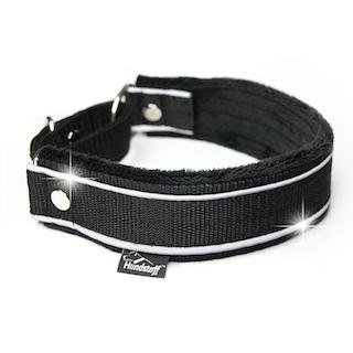 Martingale Reflex Black - svart halvstryp med reflex