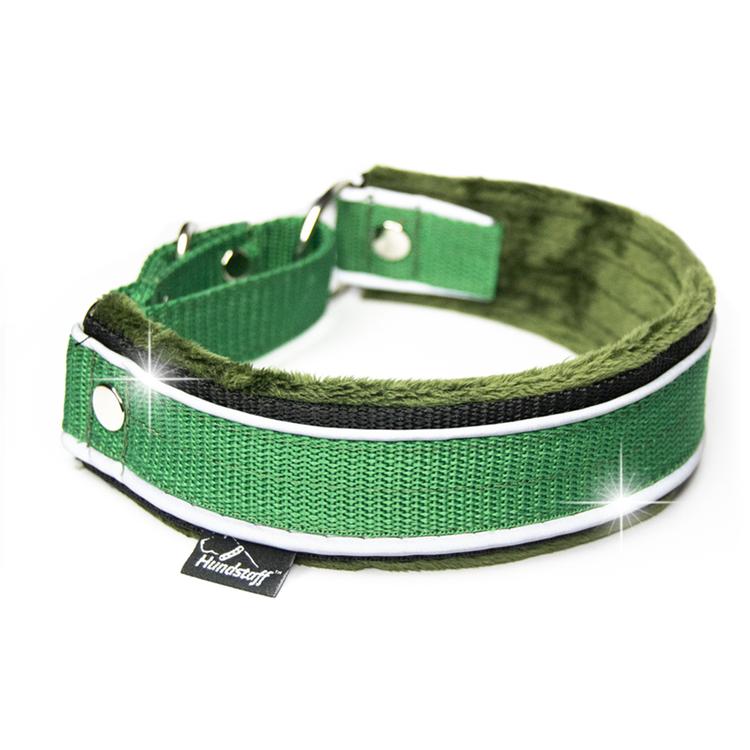 Martingale Reflex Green - grönt halvstryp med reflex