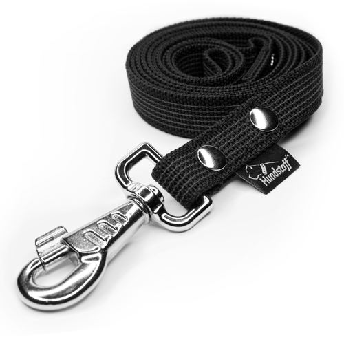 Anti-slip leash black - Grip Black
