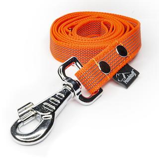 Anti-slip leash orange - Grip Orange