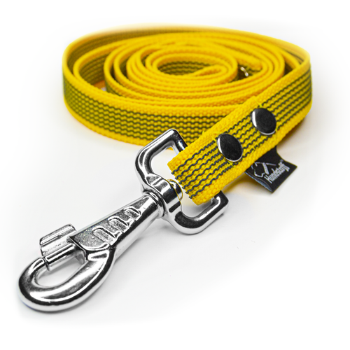 Anti-slip leash yellow - Grip Yellow