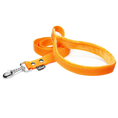 Orange Leash - with / without comfort handle
