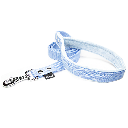Baby Blue leash - with / without comfort handle