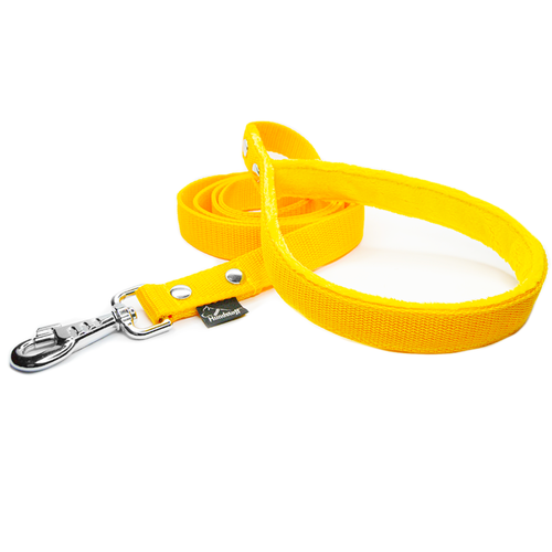 Yellow Leash - with / without comfort handle