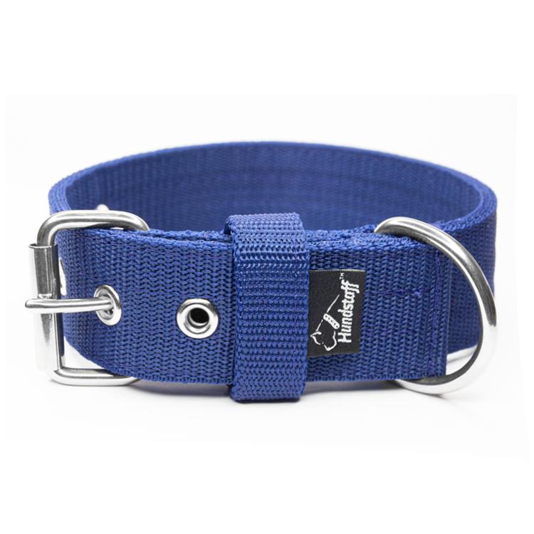 Active Navy Blue brett mörk blått hundhalsband