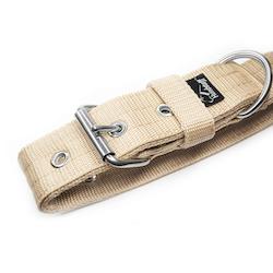 Active Beige brett beige hundhalsband