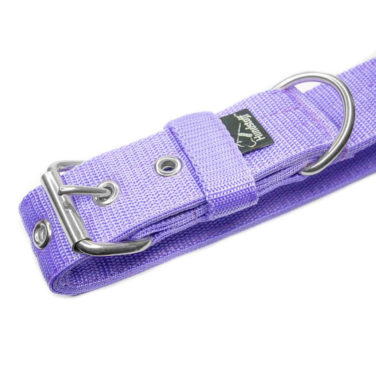 Active Baby Purple 4cm brett ljuslila hundhalsband