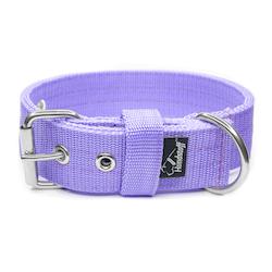 Active Baby Purple brett ljuslila hundhalsband
