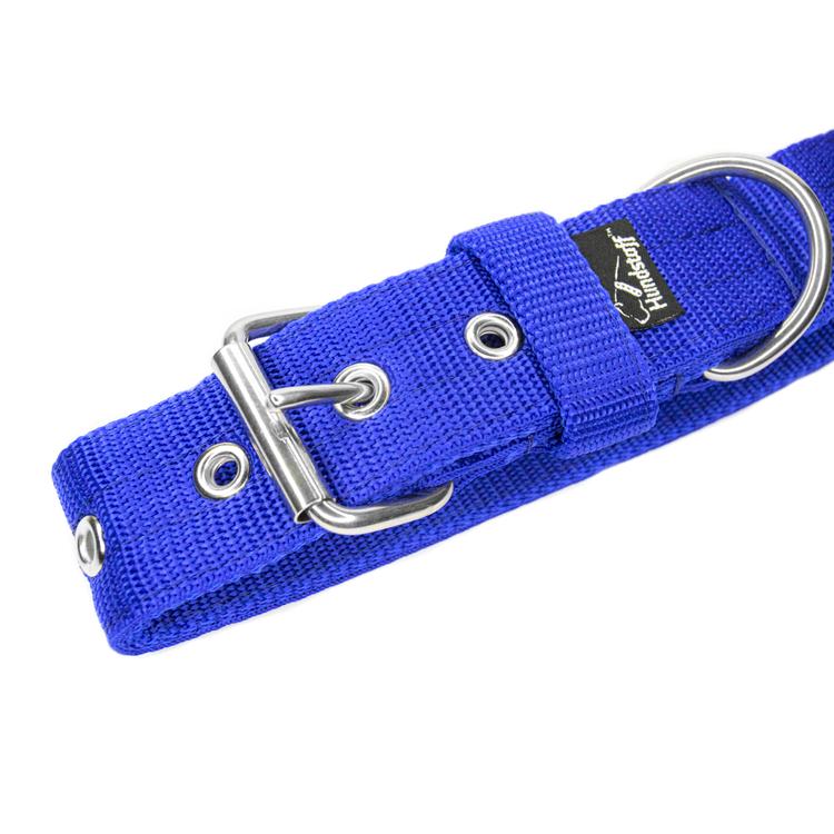 Active Blue brett blått hundhalsband