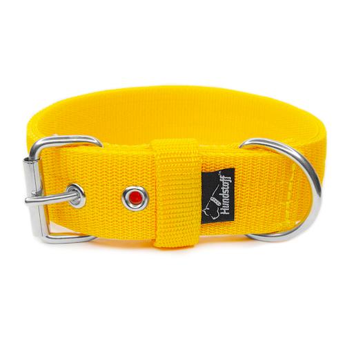 Active Yellow brett gult hundhalsband