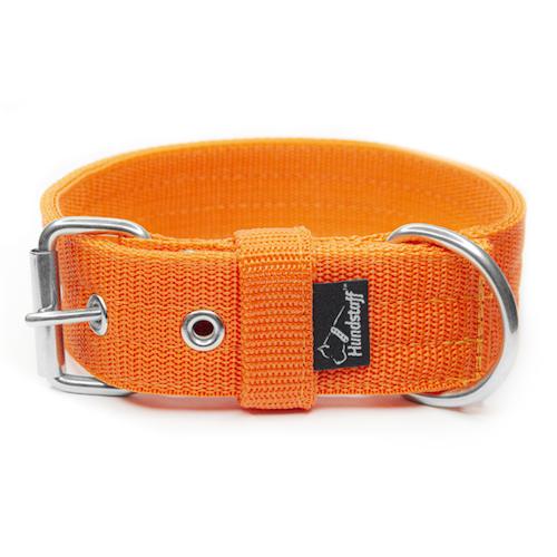 Active Orange 4cm brett orange hundhalsband