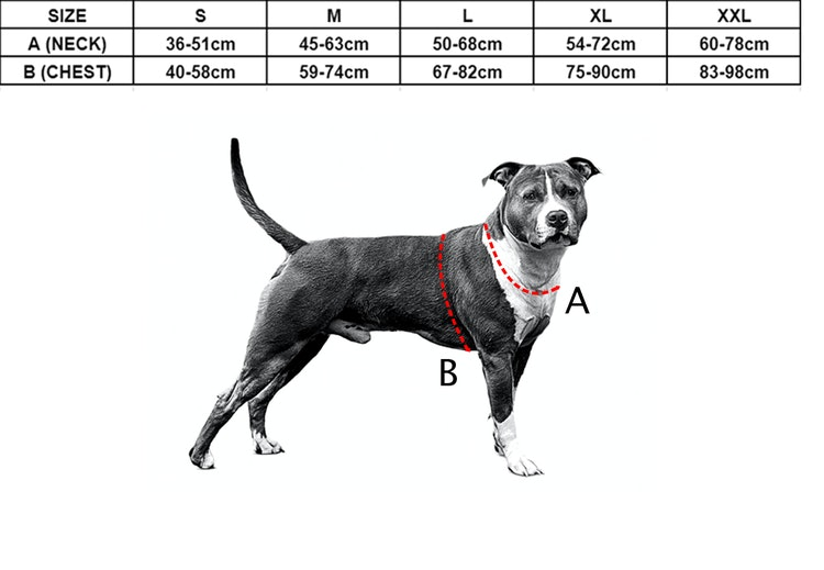 Effective Comfort Red - röd hundsele