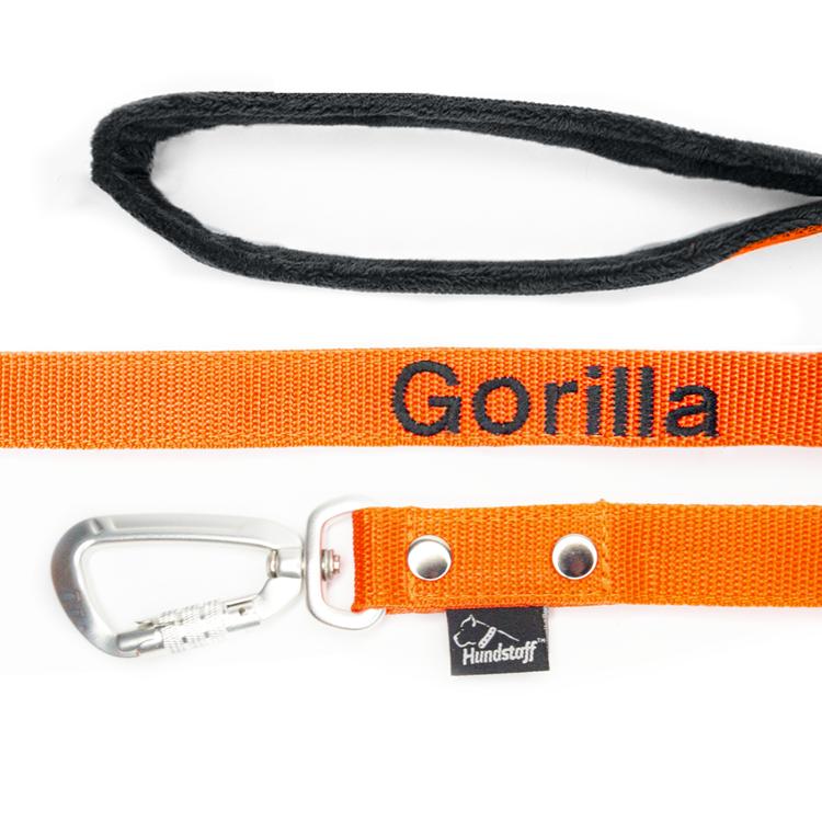 Halsband med namn