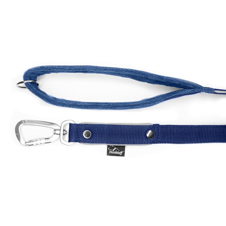 Safe koppel - Navy blue koppel med reflex och twist & lock