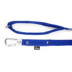 Safe koppel - Blått koppel med reflex och twist & lock