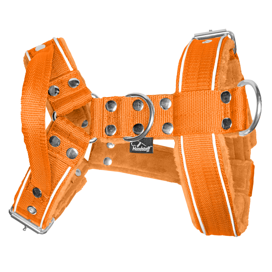 Dynamic Safe Orange - orange sele med reflex