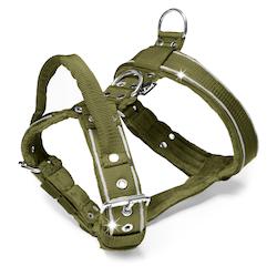 Dynamic Safe khaki - khaki sele med reflex