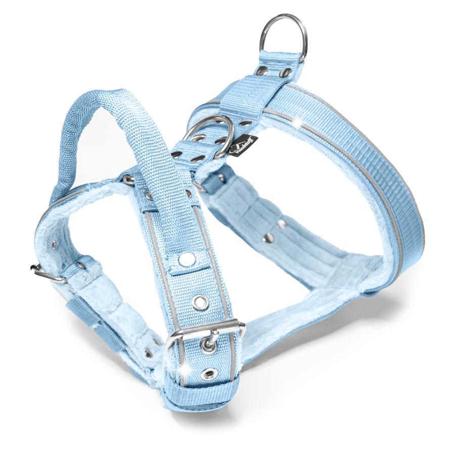 Dynamic Safe Baby Blue - ljus blå sele med reflex