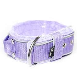 Grip Reflex Baby Purple - Ljuslila halsband med reflex