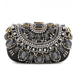 Feyroz Black Clutch