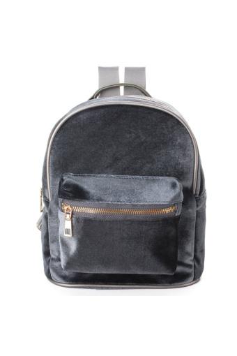 Velvet Backpack Silver