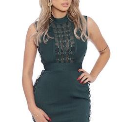 Jenna Bandage Dress Green