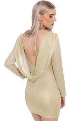 Mia Dress Gold