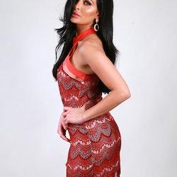 Cassandra Hot Pink Dress