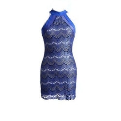 Cassandra Blue Dress
