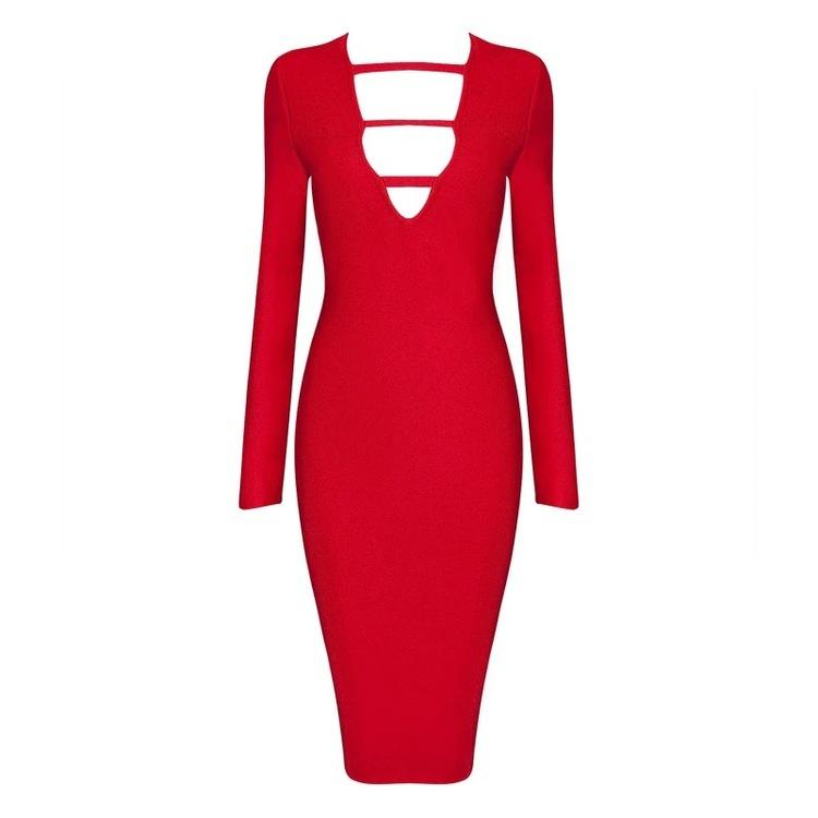 Ruchami Dress Red