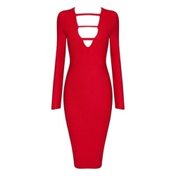 Ruchami Dress Red