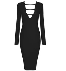 Ruchami Dress Black
