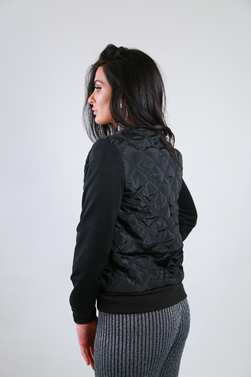 Checkered Jacket Black