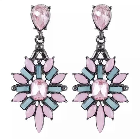 Mia Pink Earrings