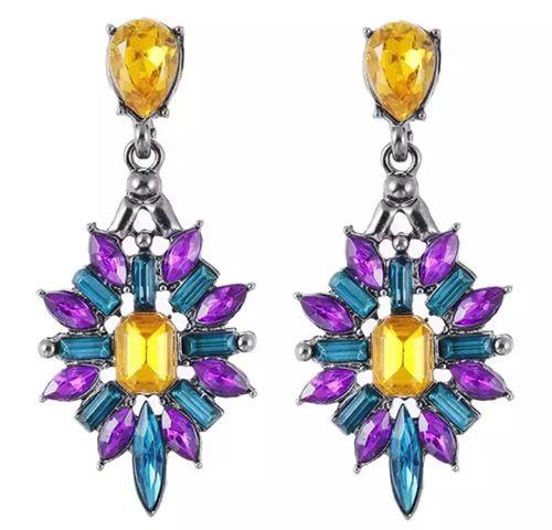Mia Purple Earrings